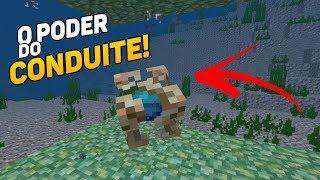 ✔COMO ATIVAR CONDUITE DO MINECRAFT PE !! (Minecraft Pocket Edition)