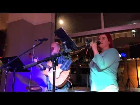Charles Trotter and Allison Surratt at Rush Espresso open mic 11/15/17