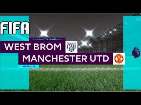 FIFA PREDICTS - WEST BROM VS MANCHESTER UNITED - PREMIER LEAGUE 2017/18!