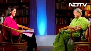 Sheila Dikshit On Her Political Career (Aired: May 2009)