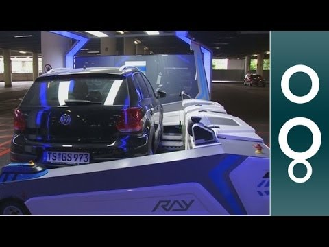 Düsseldorf Airport: A Robot Valet Will Park Your Car - Hi-Tech