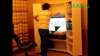 видео Организация рабочего места в офисе, в кабинете за компьютером