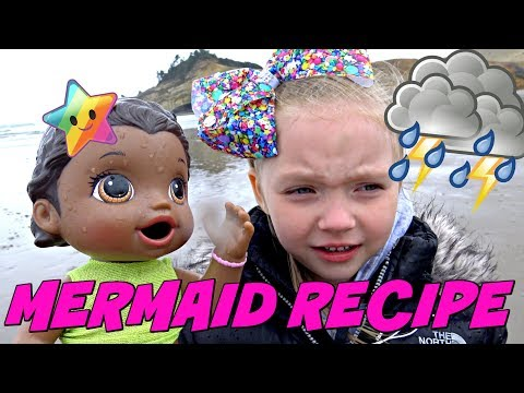 BABY ALIVE TURNS into a MERMAID! LEAVES FOREVER? The Lilly and Mommy Show. The TOYTASTIC Sisters