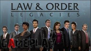Law & Order: Legacies Episode 1 Gameplay (PC/HD)