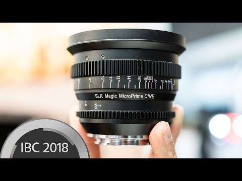 SLR Magic MicroPrime CINE 18mm T/2.8 - Full Frame Ultrawide for E-Mount
