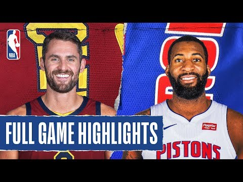 CAVALIERS at PISTONS | FULL GAME HIGHLIGHTS | January 27, 2020