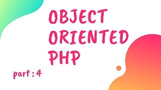 Bangla Object Oriented PHP Part-04 ( constructor )