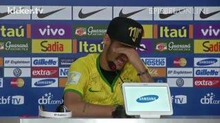 """Neymar kämpft mit Tränen: """"Könnte im Rollstuhl sitzen"""""""