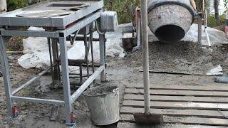 Станок для производства блоков своими руками, бизнес с нуля(В этом видео представлено изготовление станка по производству строительных блоков. Идея малого бизнеса..., 2016-03-03T13:35:33.000Z)