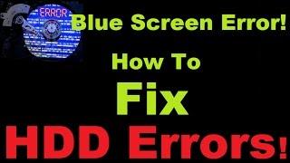 How to Fix Hard drive errors and bad sectors.