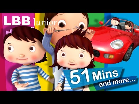 Getting A Haircut | And Lots More Original Songs | From LBB Junior!