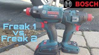 Bosch 18v GDX-1800 (Freak 2) vs. Bosch 18v EC IDH182 (Freak 1) Impact Driver Lug Nut Face Off !!
