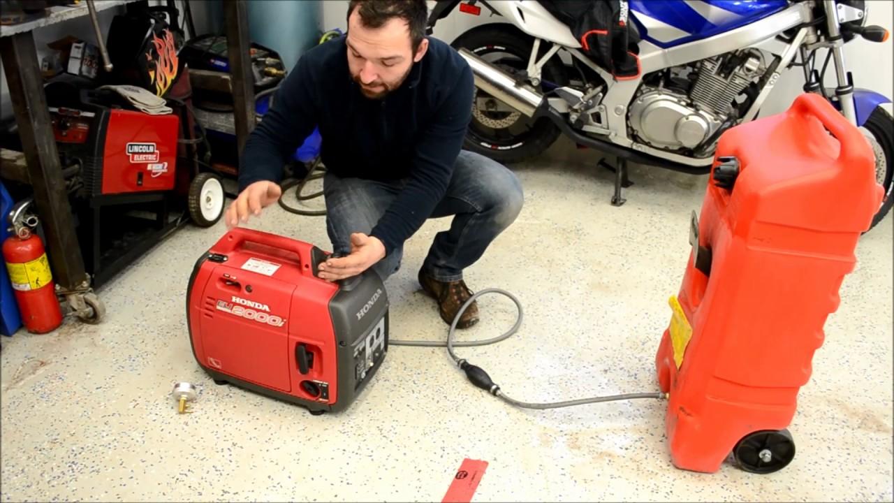 Honda Eu2000 Generator Extended Run