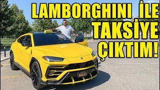 650 Beygirlik Lamborghini Urus İle Taksicilik