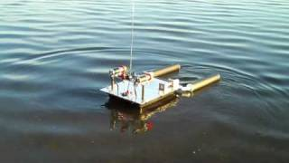 Rc Rescue And Recovery Barge With On Board Wireless Video Camera.