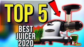 ✅ TOP 5: Best Juicer 2020