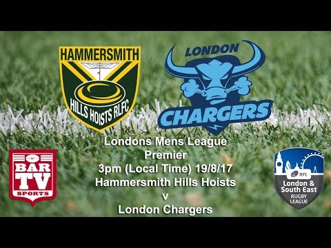 2017 London & South East RL - Premier Div - Grand Final - Hammersmith Hills Hoists v London Chargers