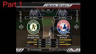 MLB 2005 As vs Expos Part 1