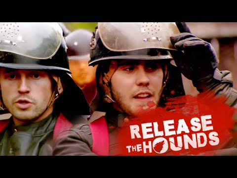 Release The Hounds  The YouTubers Game with Joe Sugg, Alfie Deyes & Marcus Butler