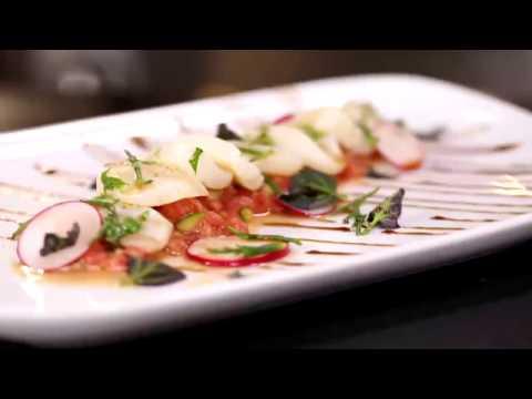 Domates Tartar İle Deniz Tarağı Ceviche Tarifi