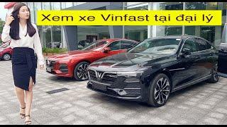 Vinfast Lux 2.0 đồng loạt về Đại Lý, giá từ 990 Triệu đồng, đẹp hơn Toyota Camry