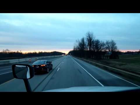 Bigrigtravels Live! - Memphis, Indiana to Franklin, Kentucky - Interstate 65 - February 2, 2017