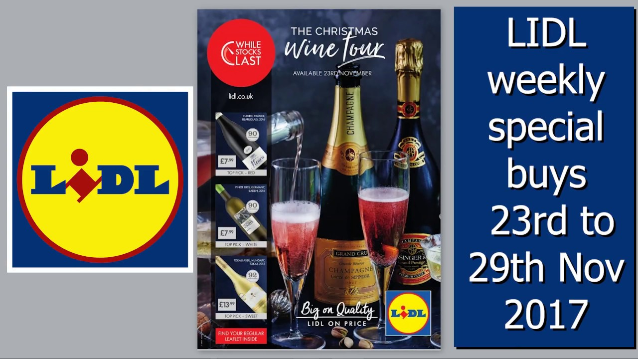 Lidl Weekly Special Buys 23rd To 29th November Black Friday Deals Youtube