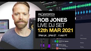 Friday Night Warmup Set with Rob Jones & Beatport DJ Web App