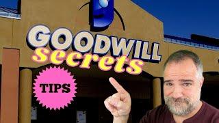 10 GOODWILL SECRETS Thrift Store Tips & Tricks