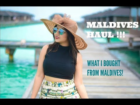 Maldives Haul !! What to buy in Maldives!