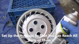 How to Paint Your Hubcaps Fast and Cheap