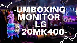 UMBOXING REVIEW: MONITOR LG 20MK400 para mi setup!
