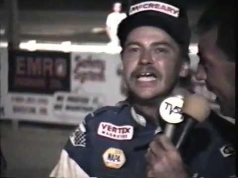 John Wisbon - Attica Raceway Park - 1991