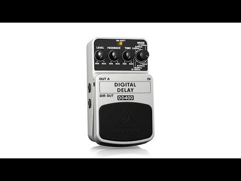 DIGITAL DELAY DD400 Guitar Pedal / Stomp Box