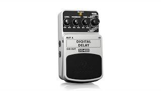 Video DIGITAL DELAY DD400 Guitar Pedal / Stomp Box download MP3, 3GP, MP4, WEBM, AVI, FLV Agustus 2018