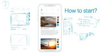 How to Start a Design – Overcome Creative Block (UI Design)