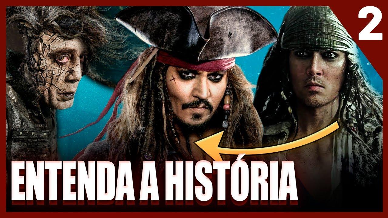 Saga Piratas do Caribe | História, Curiosidades e Jack Sparrow | PT. 2