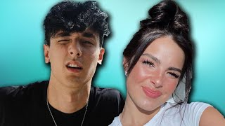 Bryce Hall Dyes His Hair The Same Color As Addison Rae | Hollywire