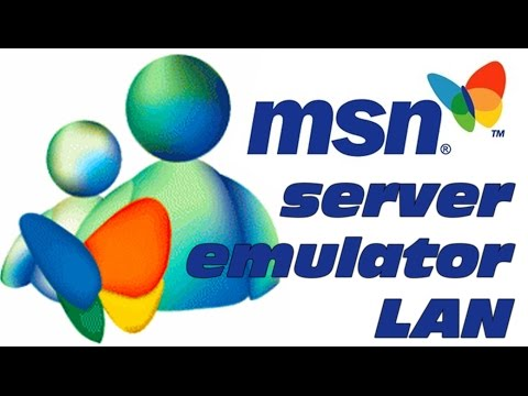 MSN Messenger Server Emulator LAN