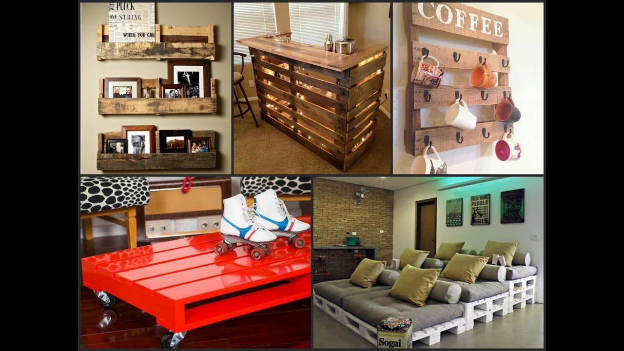 Recycled wood pallet projects diy ideas youtube for What can you make with recycled pallets