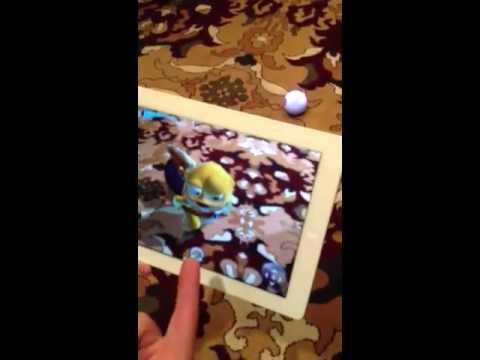 "Demo of the Sphero ""Sharky the Beaver"" app."