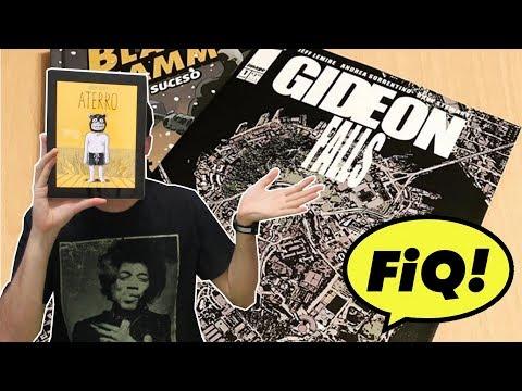 Gideon Falls (Jeff Lemire/Image) e Aterro | LANÇAMENTOS #FIQ2018