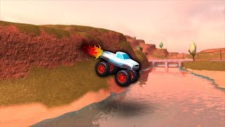 MONSTER TRUCK GETAWAYS!!! (roblox jailbreak)