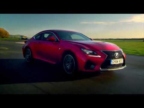 Lexus RC F и Lexus LFA на треки - Топ Гир на русском (часть 1)