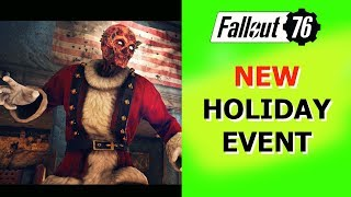 Fallout 76 NEW Christmas Holiday EVENT Starts December 12.