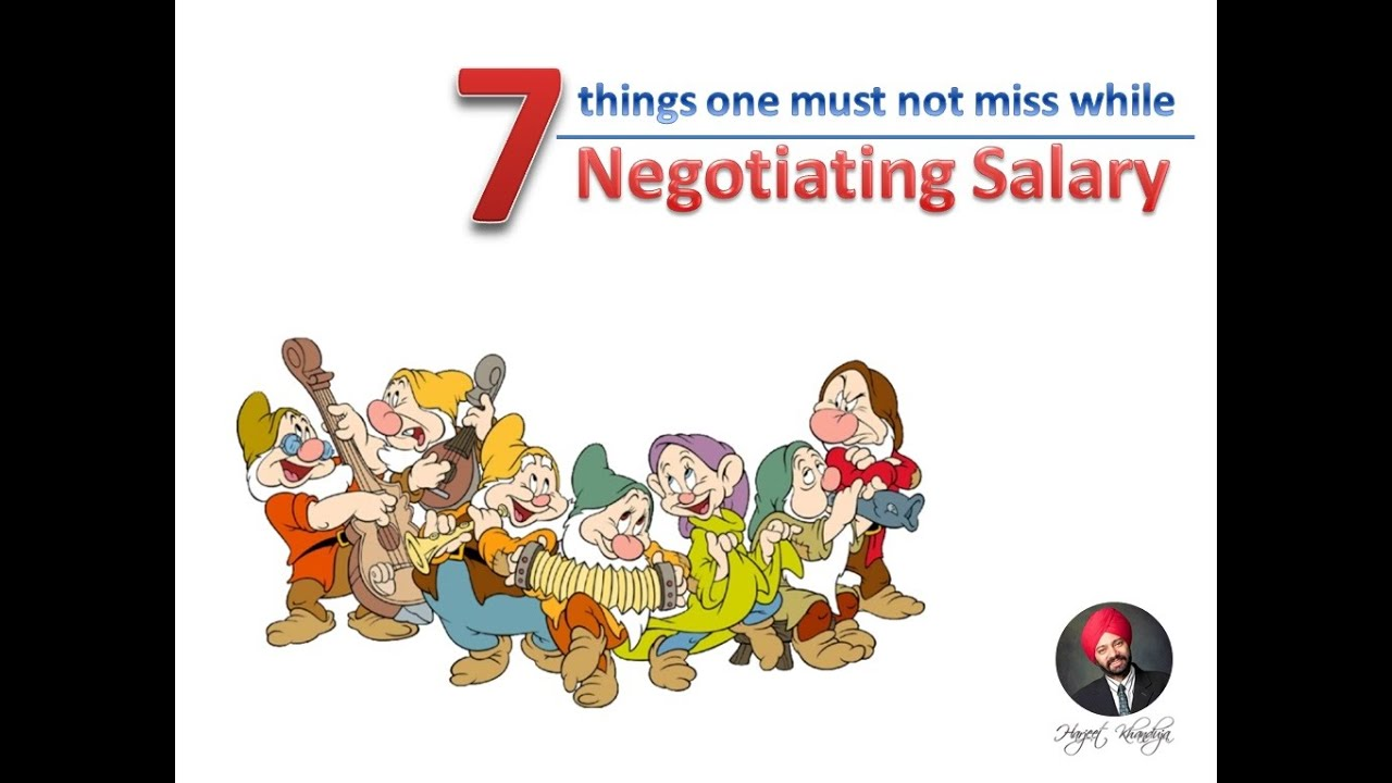 Best HR Videos - 7 things one must not miss while Negotiating salary