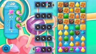 Candy Crush Soda Saga Level 1143 ★★★ Coloring Candy Fun The Highest Score