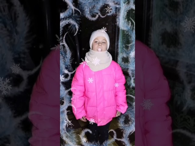 Изображение предпросмотра прочтения – АленаЧерепкова читает произведение «Зима» С.А.Есенина