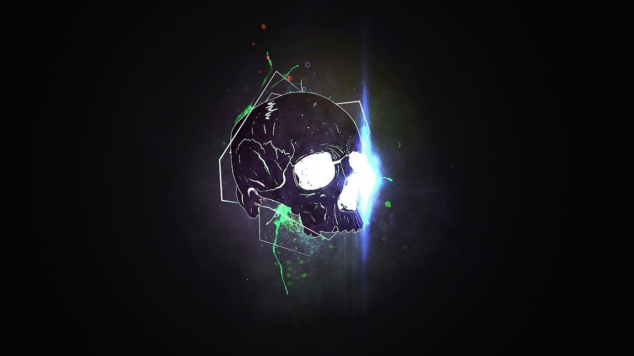 Steelers 3d Wallpaper Skull Splatter Wallpaper Photoshop Tutorial Youtube