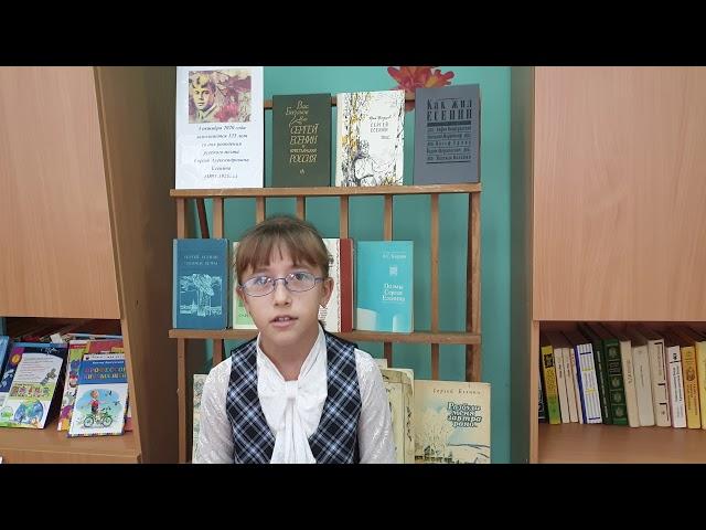 Изображение предпросмотра прочтения – ВалерияСтроганова читает произведение «Зима» С.А.Есенина